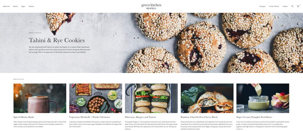 green kitchen stories blog food