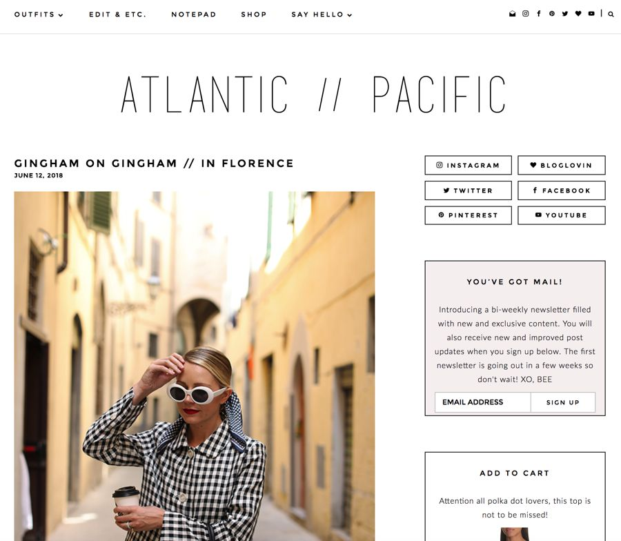 atlantic pacific fashion blog