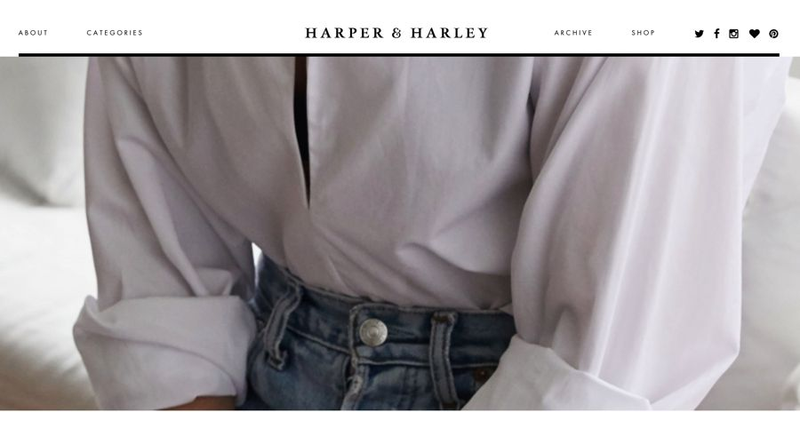 harper & harley fashion blog