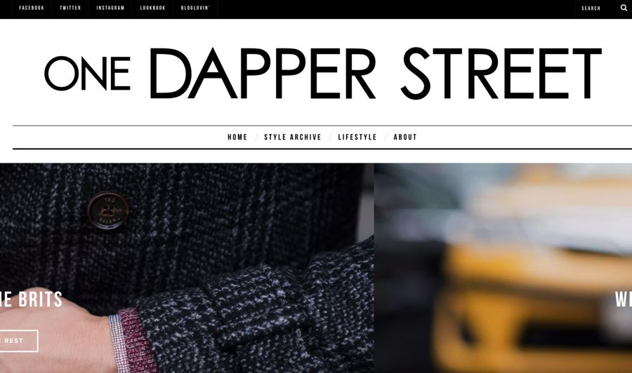 one dapper street fashion blog