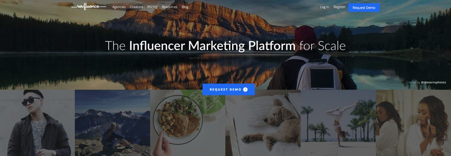 revfluence influencer marketing platform