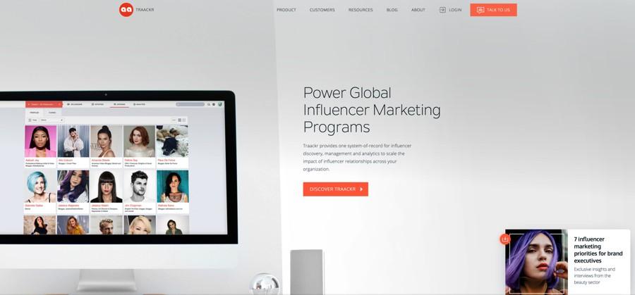 traackr influencer marketing platform