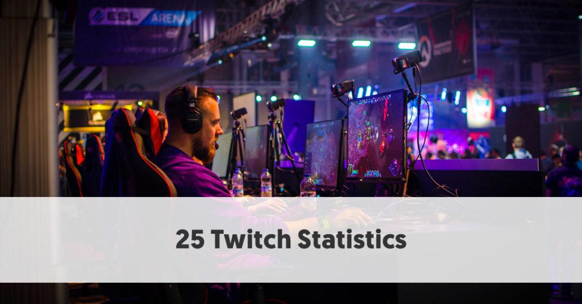 25 Useful Twitch Statistics for Influencer Marketing