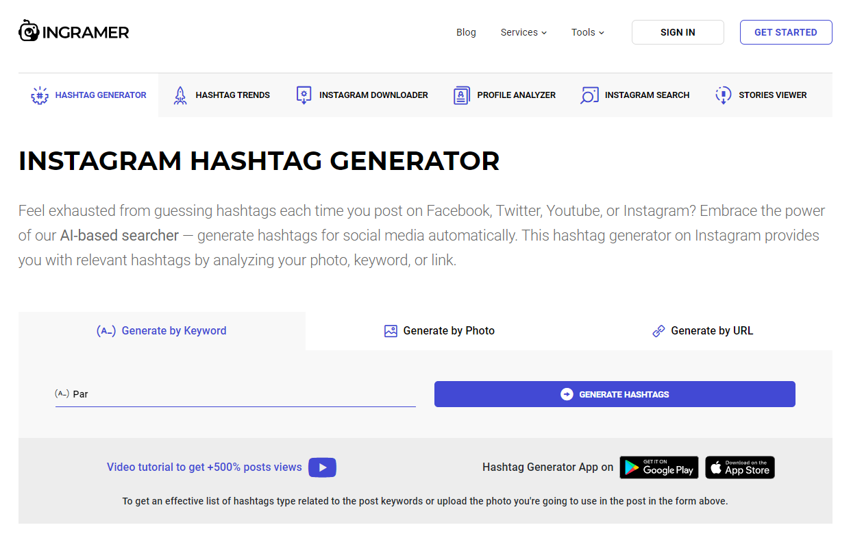 11 Best Instagram Hashtag Generator Tools on the Web