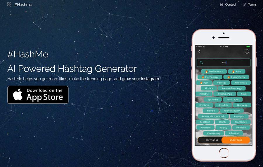 hashme instagram hashtag generator