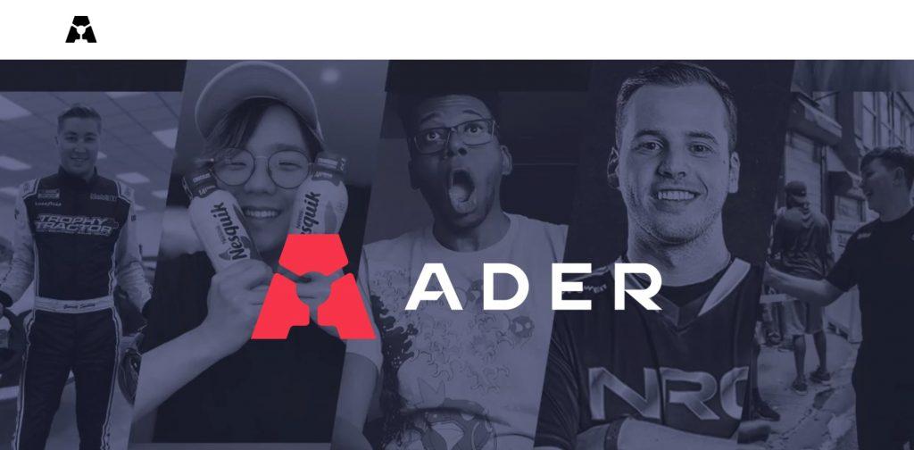 esports marketing agency ader