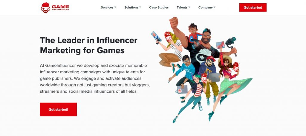 esports international marketing agency Game Influencer