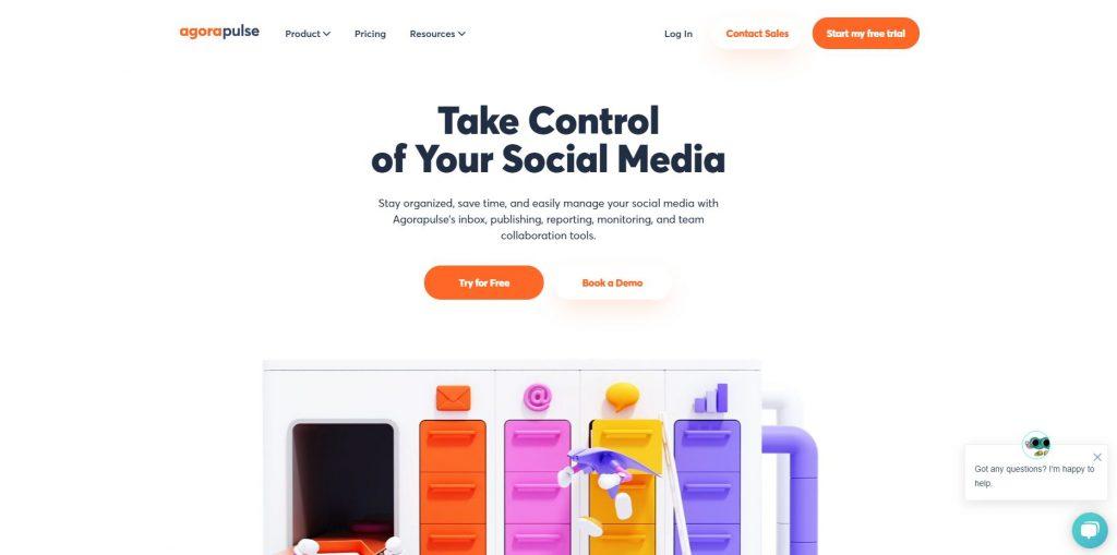 agorapulse social media scheduler