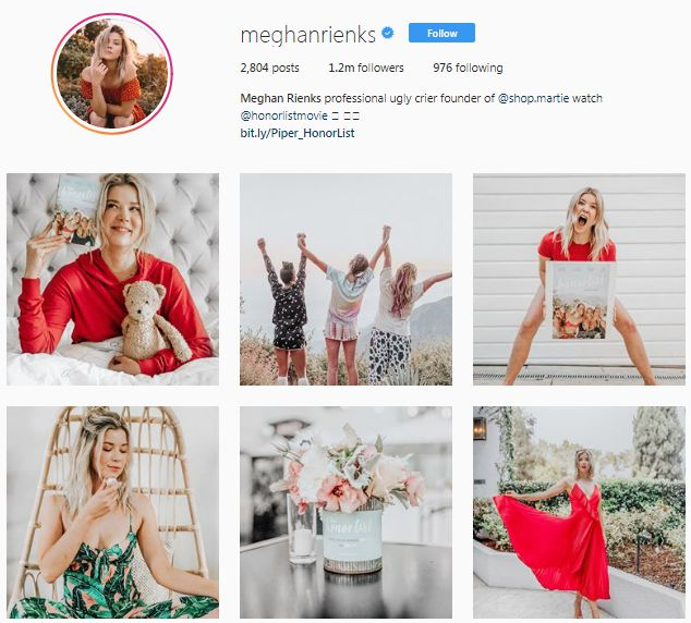 She incorporates a lot of white and negative space in her photos paired  with bright colors. The transition from one photo to another is seamless  adding a ...