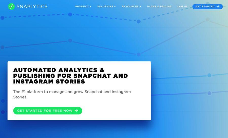 Snaplytics social media marketing tool
