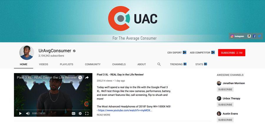 UrAvgConsumer