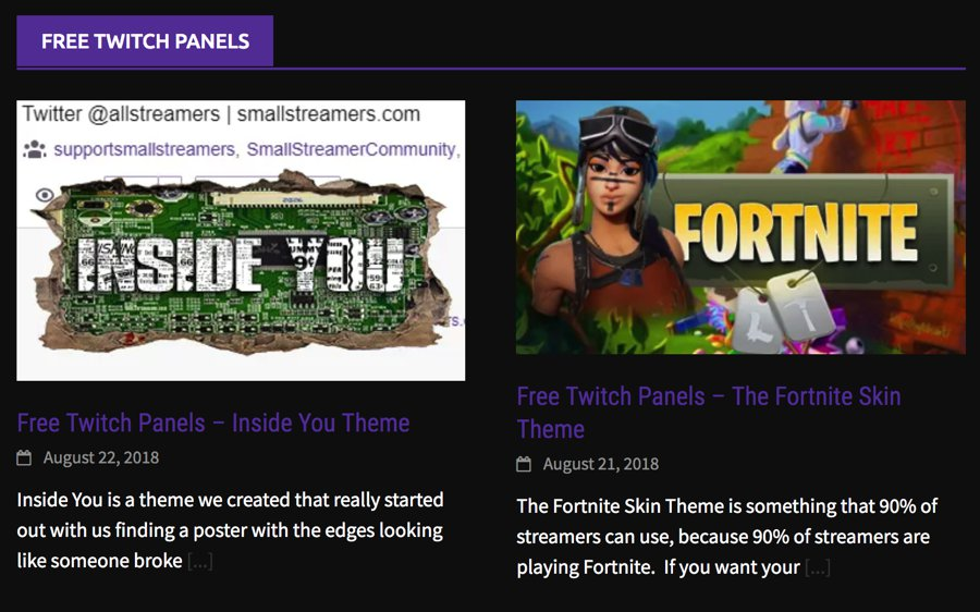8 Impressive Twitch Panels Streamers can Utilize to Spice up
