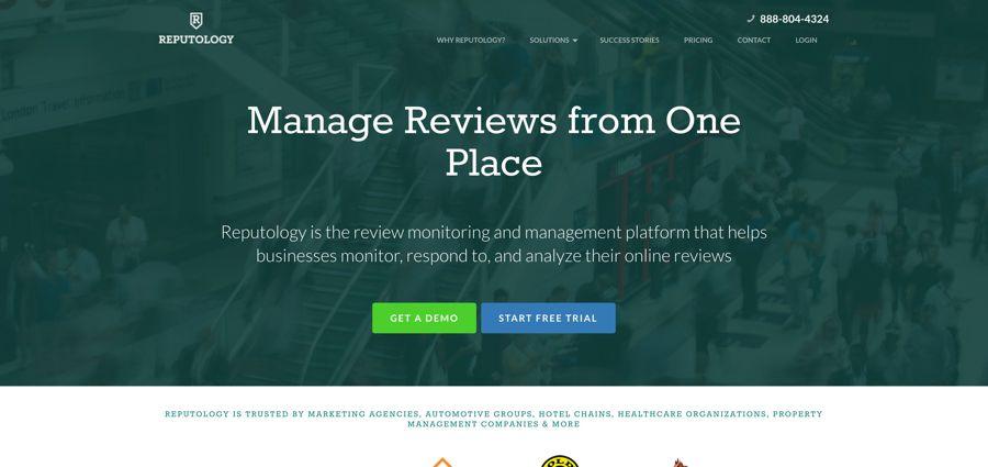 Review Monitoring Feedback Platform I Reputology - 15 công cụ theo dõi - phân tích thương hiệu hàng đầu năm 2019