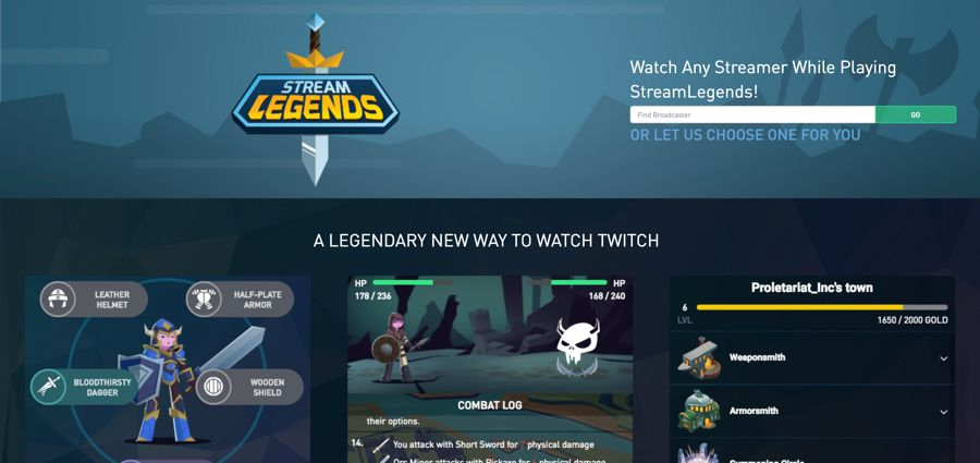 Stream legends twitch extensions