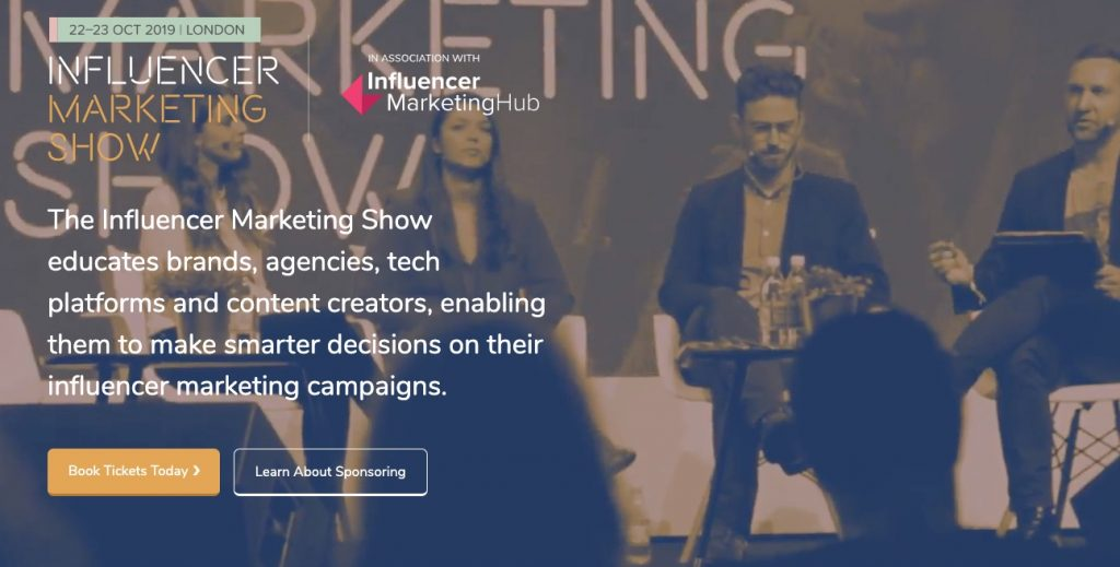 Influencer Marketing Show Conference