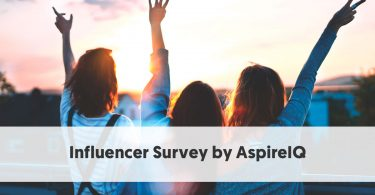 Influencer Survey by AspireIQ