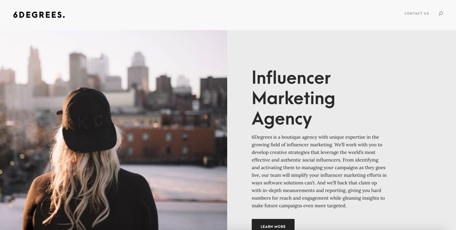 6degrees influencer marketing agency