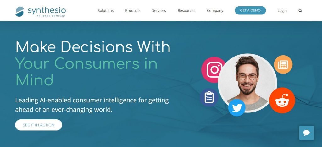 AI Enabled Consumer Intelligence by Synthesio