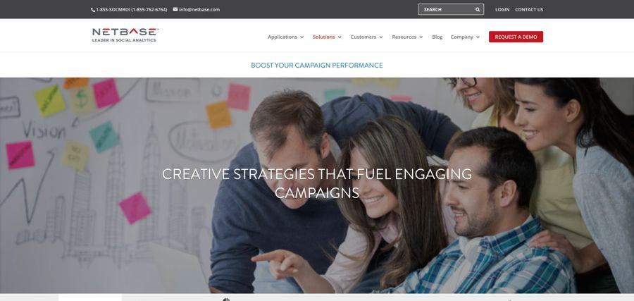 Boost Campaign Performance %E2%80%93 NetBase - 15 công cụ theo dõi - phân tích thương hiệu hàng đầu năm 2019
