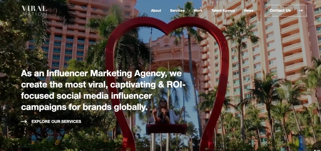 global influencer marketing agency