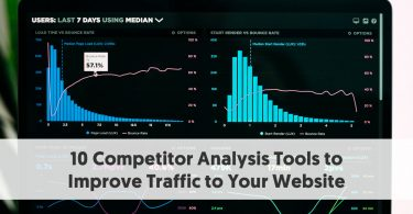 10 Competitor Analysis Tools to Improve Traffic to Your Website