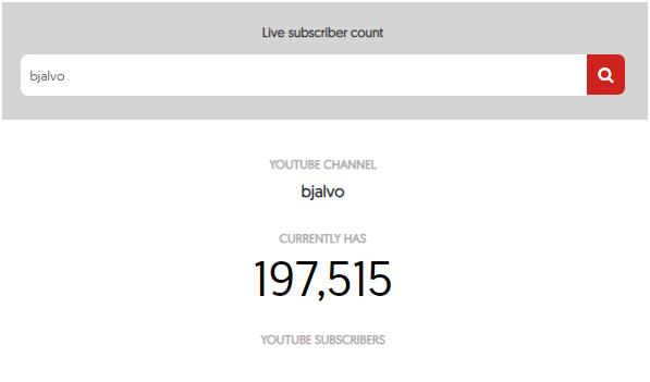 Live Subscriber Count | Top Youtube
