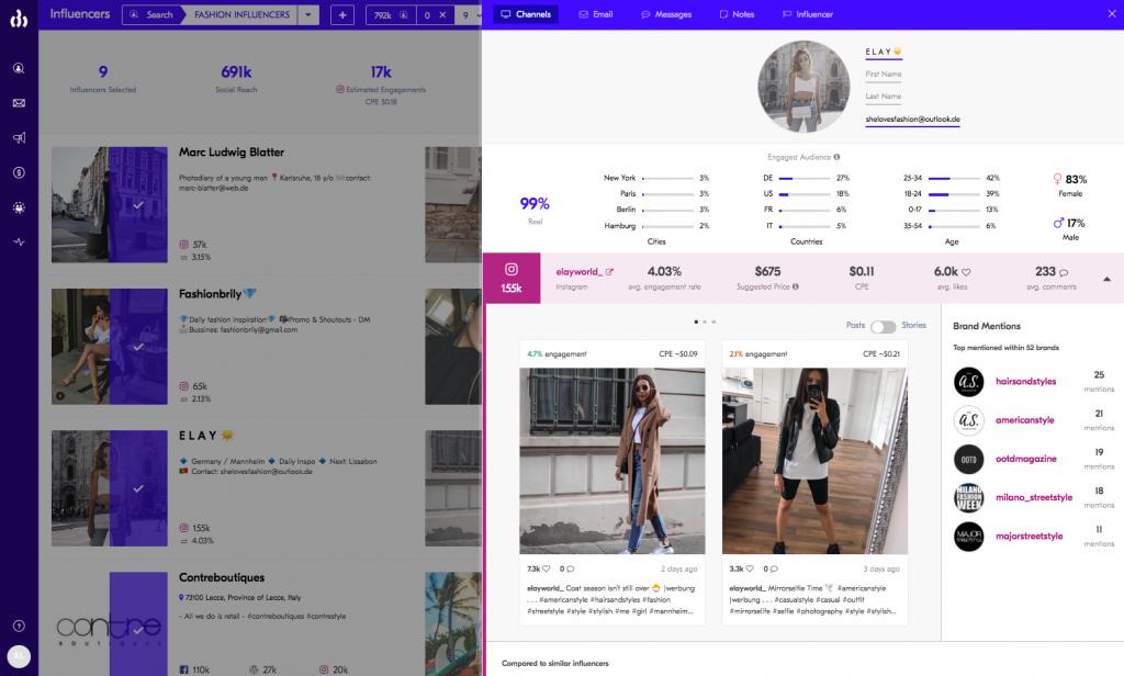 influencer marketing platform 2020