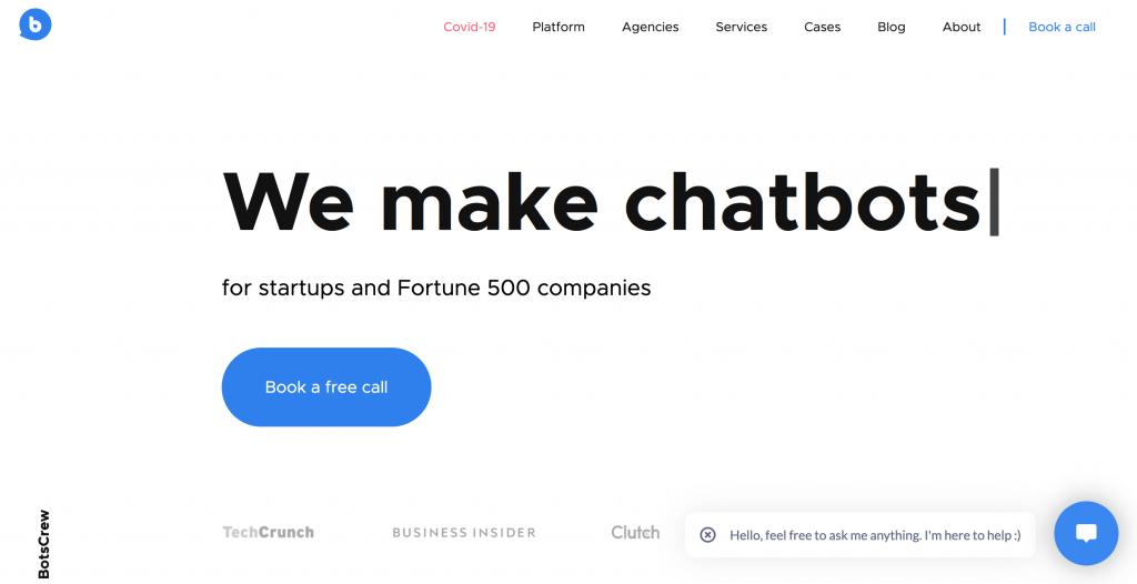 botscrew chatbot