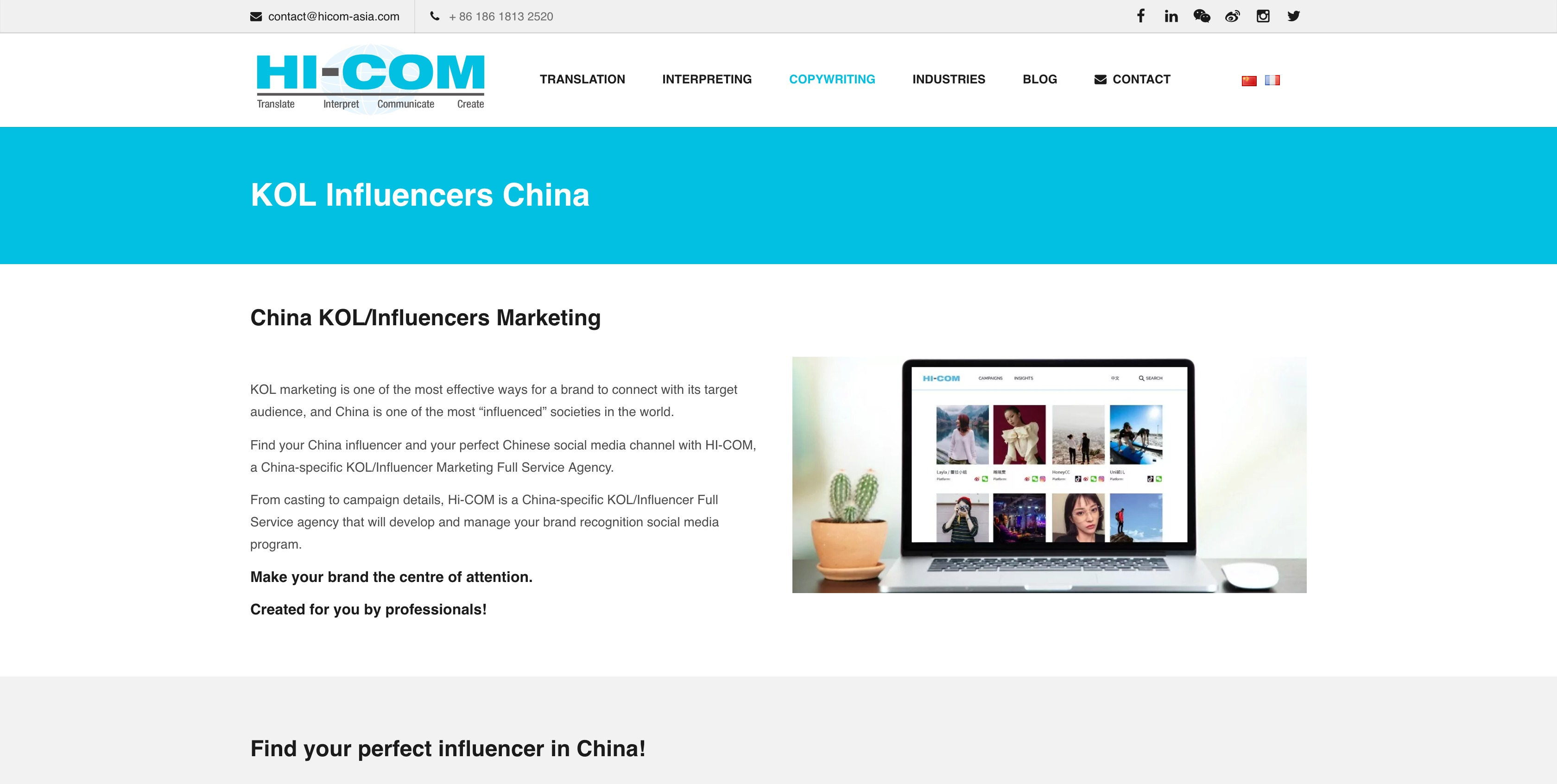 10 Chinese KOL Agencies and Platforms To Power Your Growth In Asia