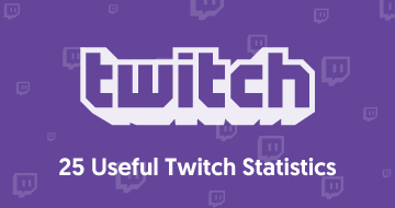 25 Useful Twitch Statistics for Influencer Marketing Managers