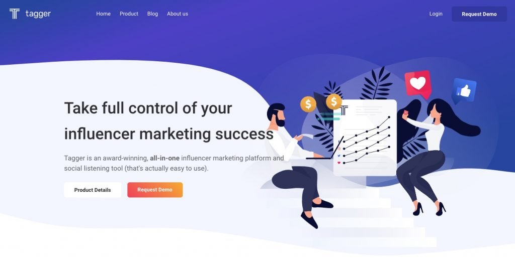 tagger influencer marketing platform