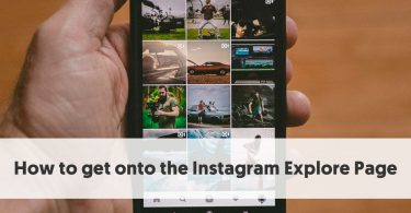 How to get onto the Instagram Explore Page