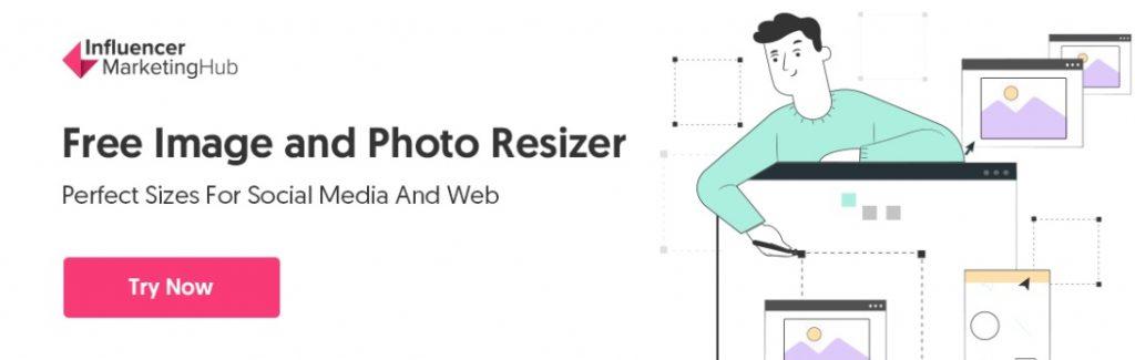 social media image resizer tool