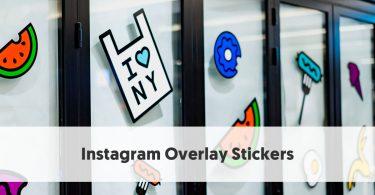 Instagram Overlay Stickers