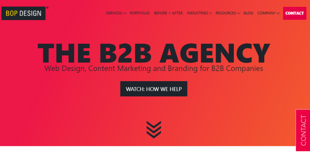 content marketing agency bop design 2021