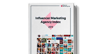 Influencer Marketing Agency Index 2019