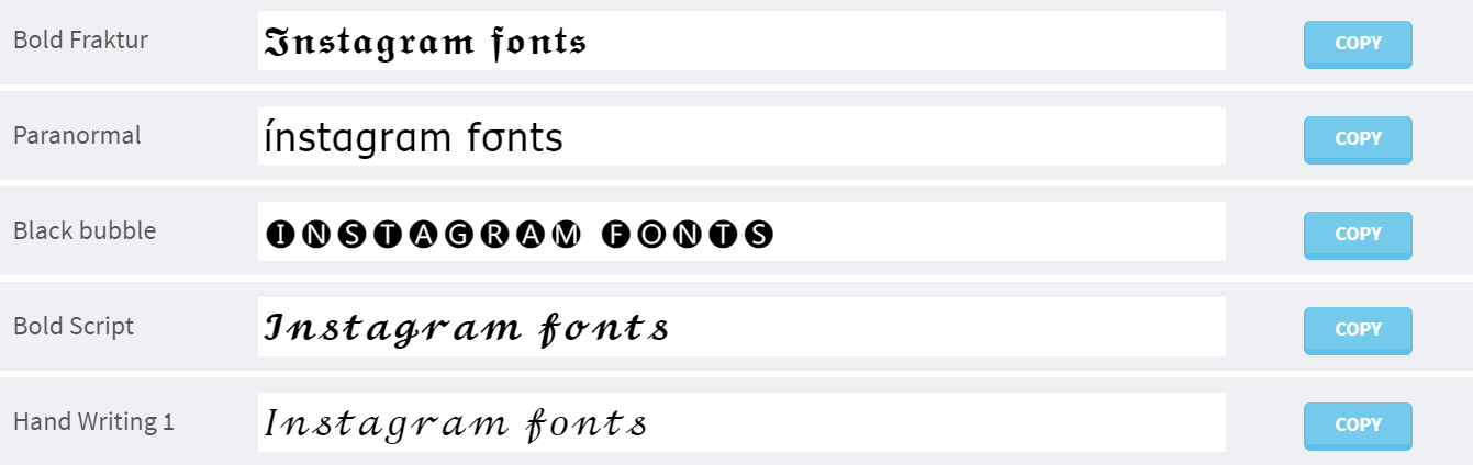 How to Customise Instagram Fonts [+Free Instagram Fonts Generator]