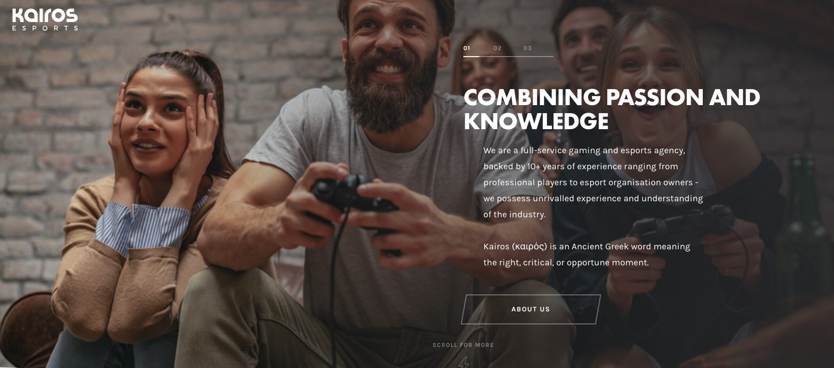 kairos gaming agency uk