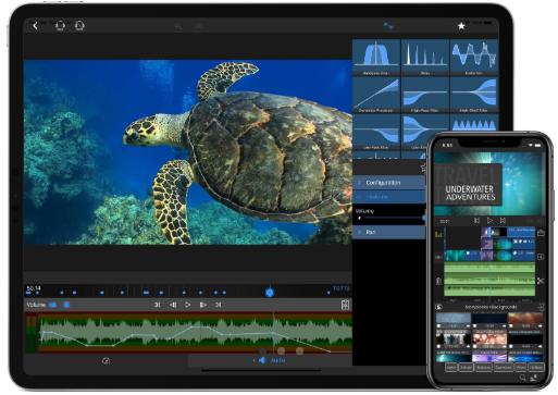 luma mobile video editing app