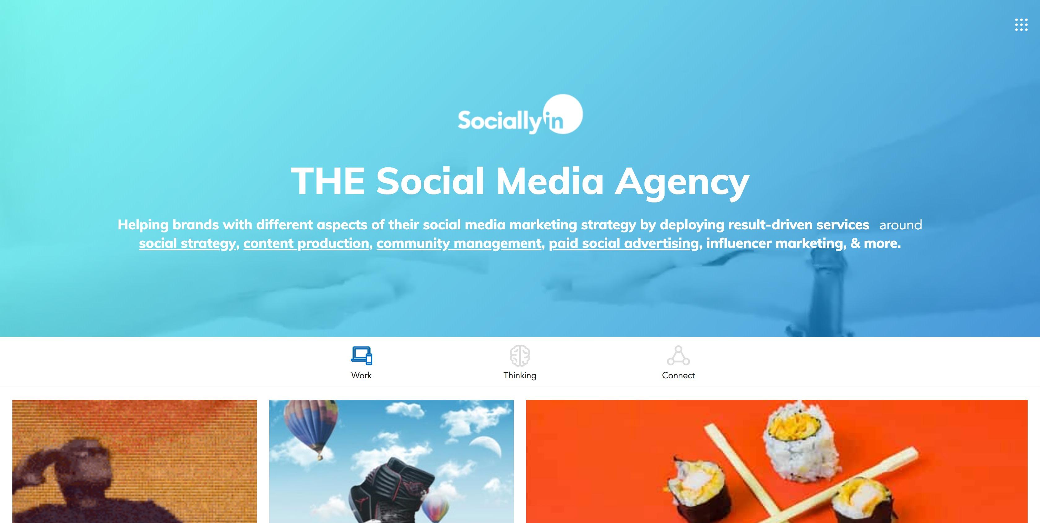 sociallyin social media agency