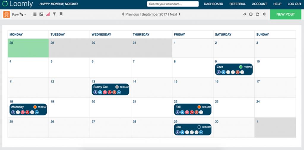 loomly instagram scheduler