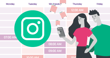 Instagram Post Times Planner