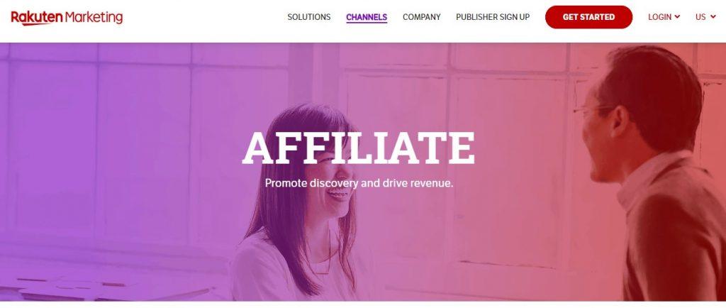 rakuten affiliates
