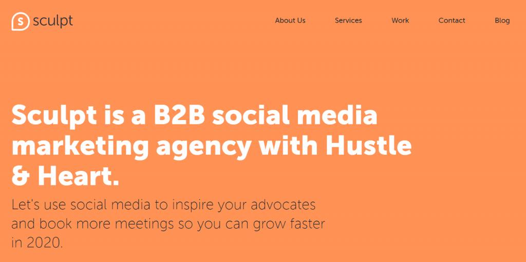 sculpt social media agency top 20