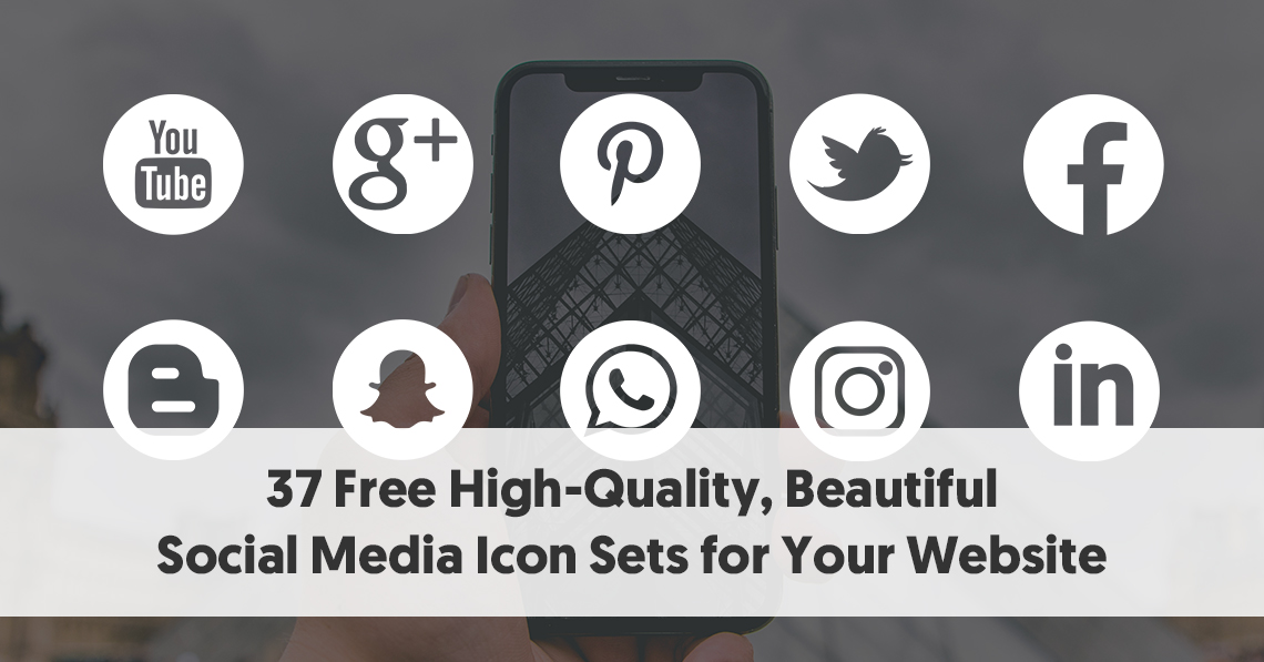 free social media icons no attribution