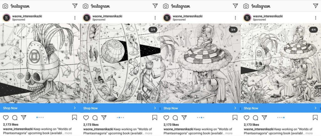 instagram carousel ads specs