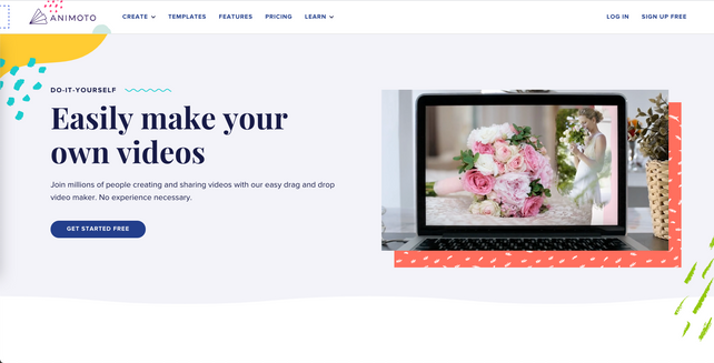 animoto video editing software and promo maker