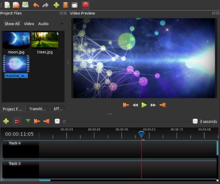 openshot professional video editing software