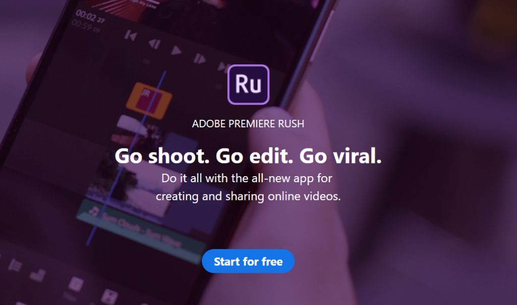 adobe video software for editing