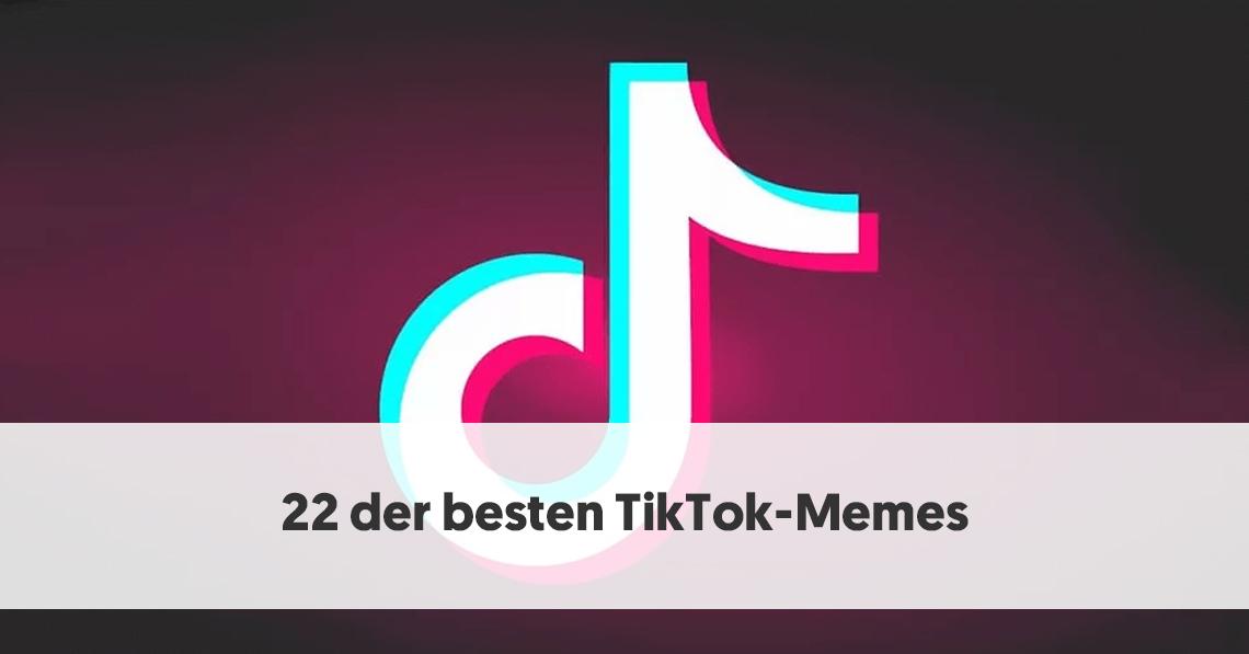 22 der besten TikTok-Memes